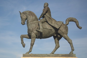 King Carol I statue, Bucharest