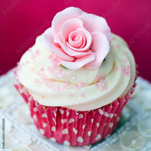 Rose cupcake