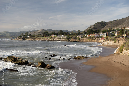 Cambria coast, California