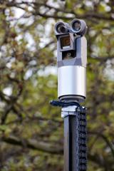 Police Surveillance Camera Facing Left