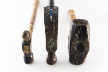 Three Hammers Compared