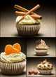 Collage of different types of muffins no. 6