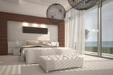 Extravagant Exclusive Design Bedroom with sea view
