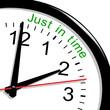 Horloge. Just in time