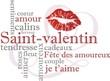 fond saint-valentin