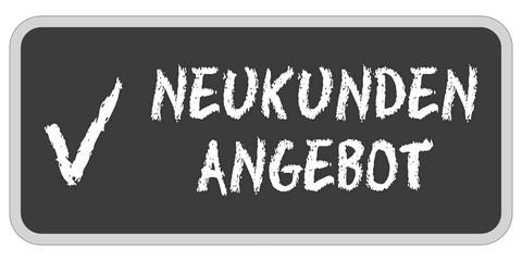 Grunge Stempel rot NEUKUNDEN ANGEBOT