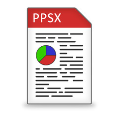 Dateityp Icon PPSX