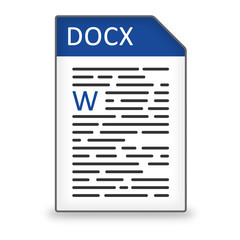 Dateityp Icon DOCX