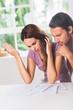 Woman misunderstanding the finances