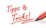 Stift- & Schriftserie: Tipps und Tricks! rot