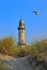 Alter Leuchtturm Warnemünde