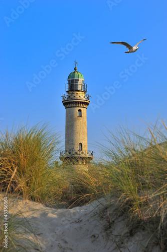 Fototapeten,ostsee,leuchtturm,alt,strand