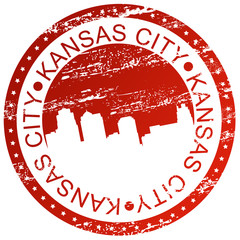 Stamp - Kansas City, USA