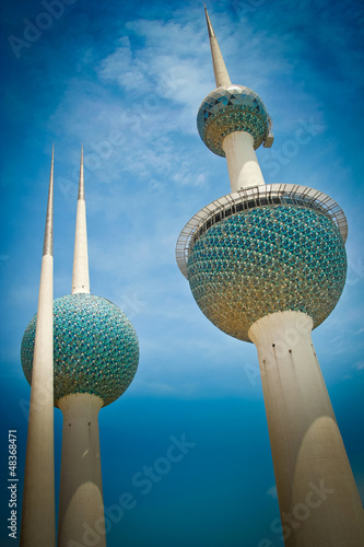 Kuwait Towers, City of Kuwait
