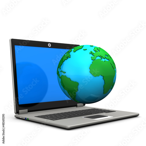 Laptop Earth