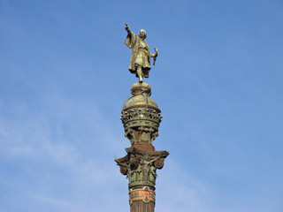Christopher Columbus, Barcelona