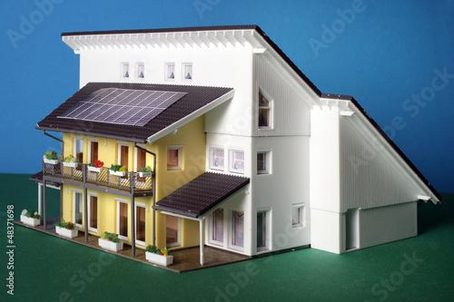 Ein kleines Modellhaus