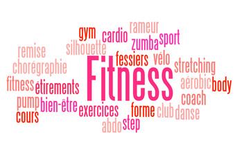 Nuage de Mots : Fitness