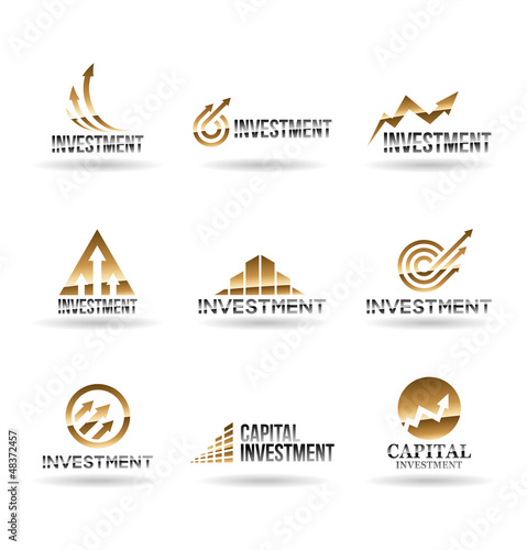 Investment Icons. Vol 1.
