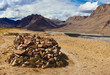 Mani stones in Spiti, Himachal Pradesh, India