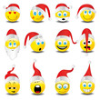 Smilies Smiley Emoticon faces icon set 5