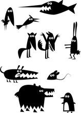 Ensemble de Funny Animals