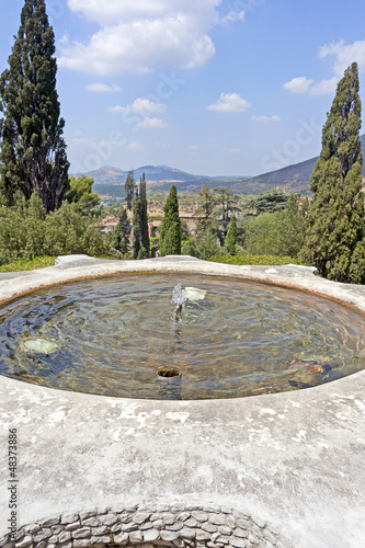 small pool in villa d'este