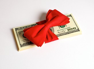 Cash Bonus as Gift for Christmas