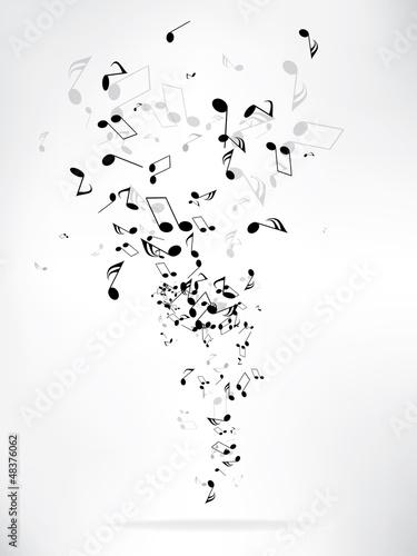 Muzyczne abstrakcyjne tło
