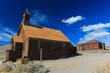 Bodie Ghost Town, Sierra Nevada, California - the church
