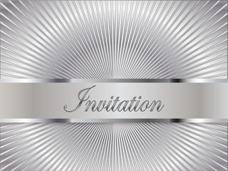 Srebrne zaproszenie