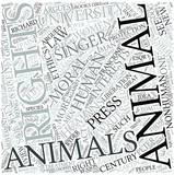 Animal rights Disciplines Concept