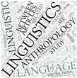 Anthropological linguistics Disciplines Concept