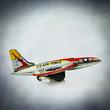 vintage toy jet