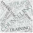 Counseling psychology Disciplines Concept