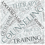 Counseling psychology Disciplines Concept