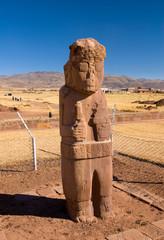Monolith of Tiwanaku, Bolivia
