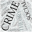 Criminology Disciplines Concept