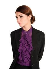 hübsche businessfrau