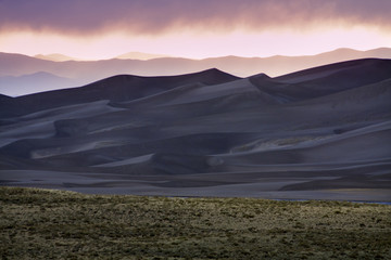 Sunset in Great Sand Dunes National Park