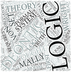 Deontic logic Disciplines Concept