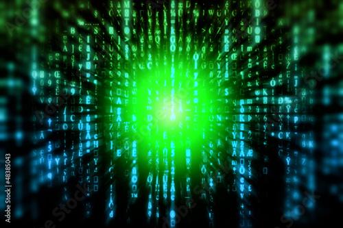 Abstract Matrix Background