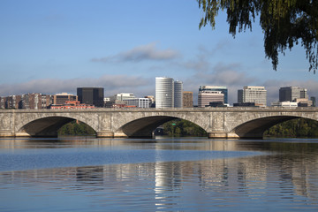 Rosslyn, Virginia and Potomac River