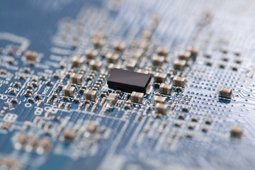 Electronic circuit chip