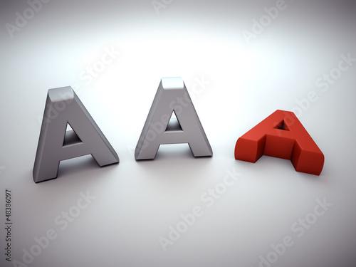Losing AAA notation