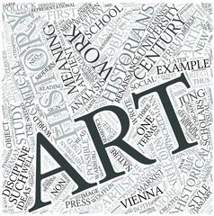 Art history Disciplines Concept