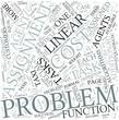 Assignment problem Disciplines Concept