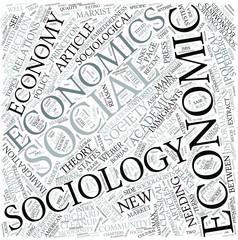Economic sociology Disciplines Concept