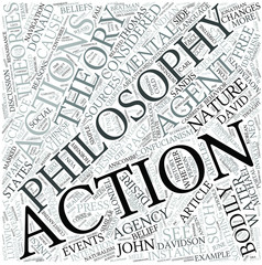 Action (philosophy) Disciplines Concept