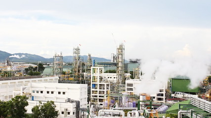 Landscape of factory